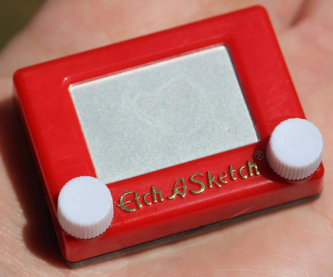 World's Smallest Etch-A-Sketch - http://coolthings.us