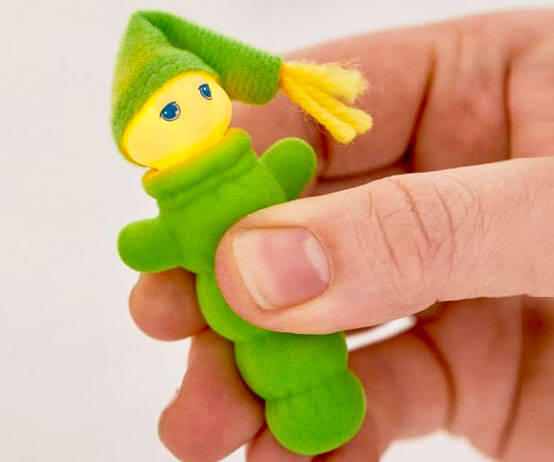 World's Smallest Glow Worm - http://coolthings.us