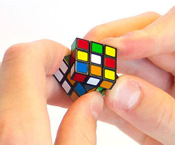 World's Smallest Rubik's Cube - http://coolthings.us