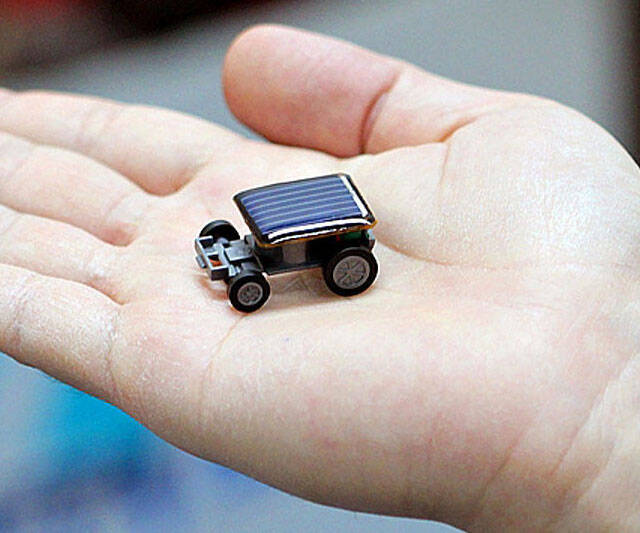 World's Smallest Solar Powered Car - http://coolthings.us