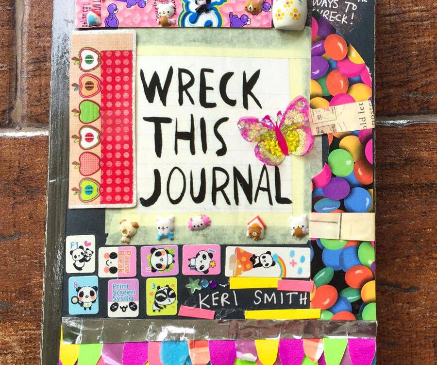 Wreck This Journal - http://coolthings.us
