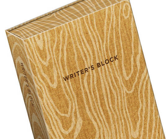 Writer's Block Journal - http://coolthings.us