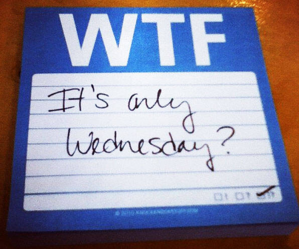 WTF Sticky Notes - http://coolthings.us