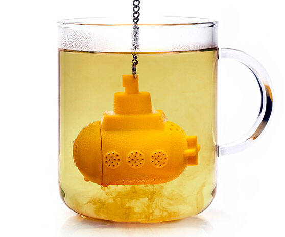 Yellow Submarine Tea Infuser - http://coolthings.us