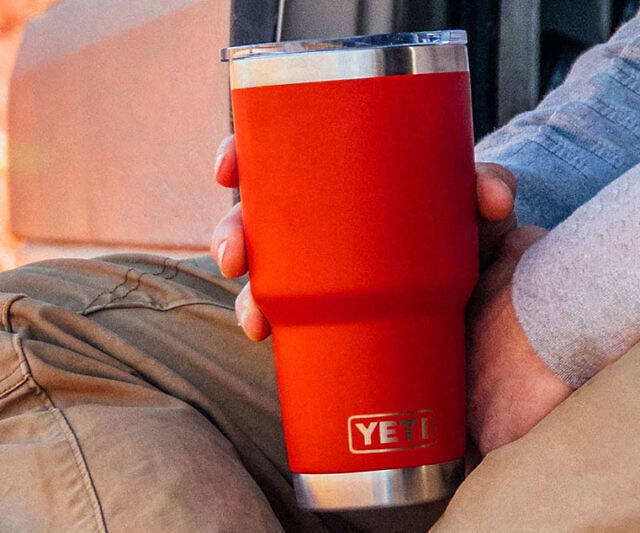 YETI Rambler Insulated Tumbler - http://coolthings.us
