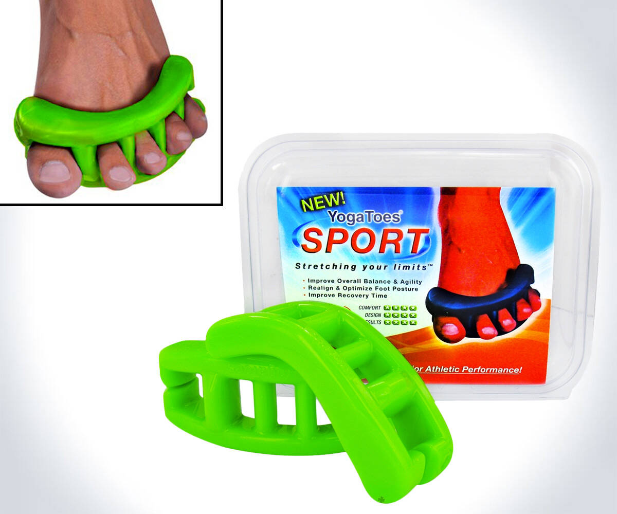 Toe Stretcher & Separator - http://coolthings.us