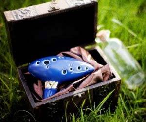 Zelda Playable Ocarina - http://coolthings.us