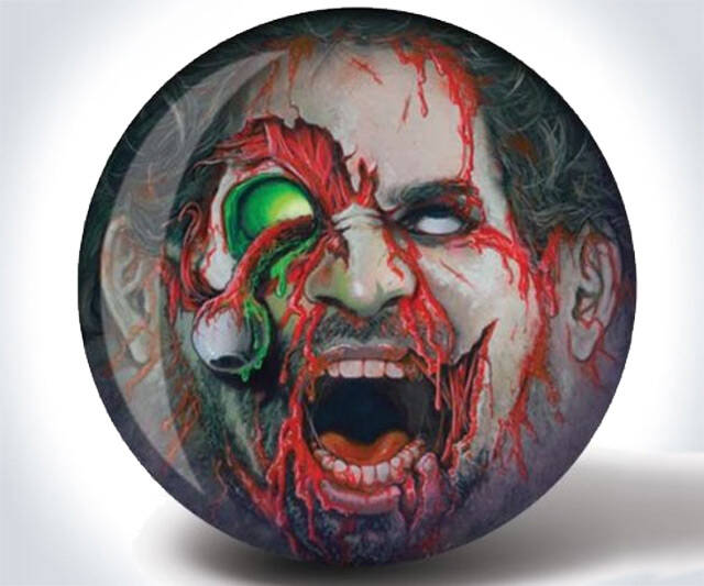 Zombie Bowling Ball - http://coolthings.us
