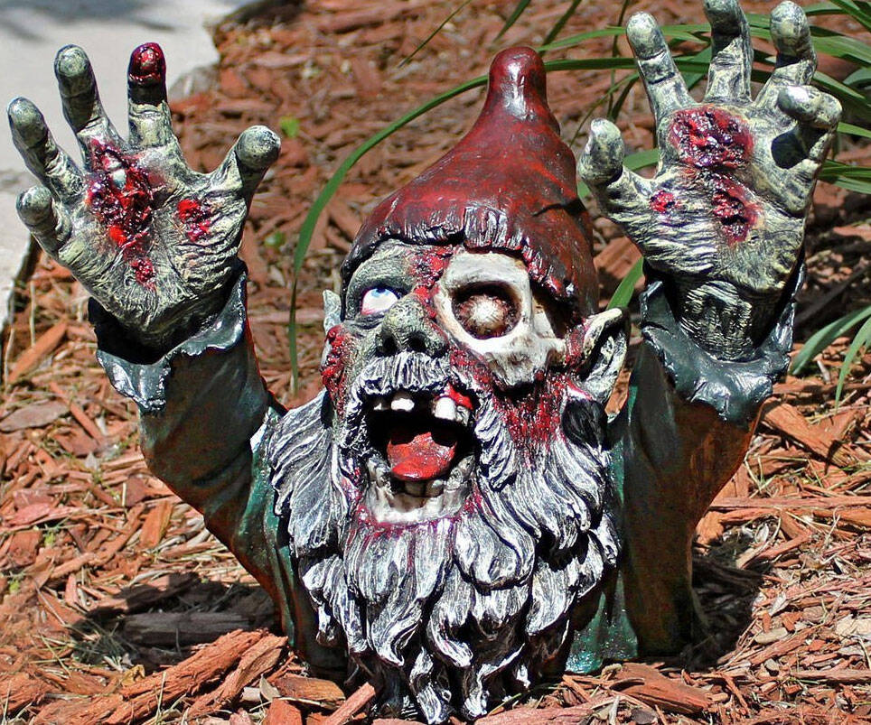 Zombie Gnomes - http://coolthings.us