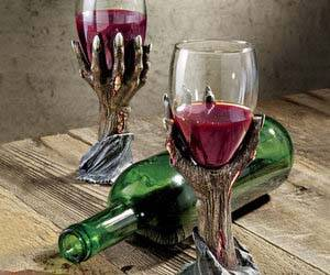 Zombie Hand Goblet - http://coolthings.us