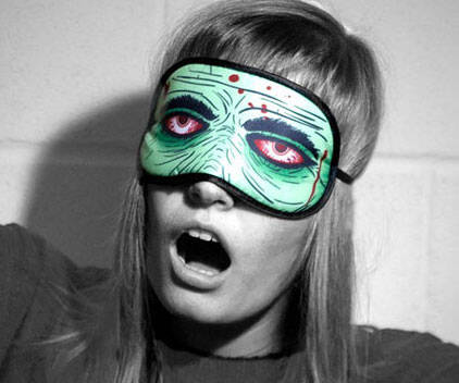 Zombie Sleeping Mask - http://coolthings.us